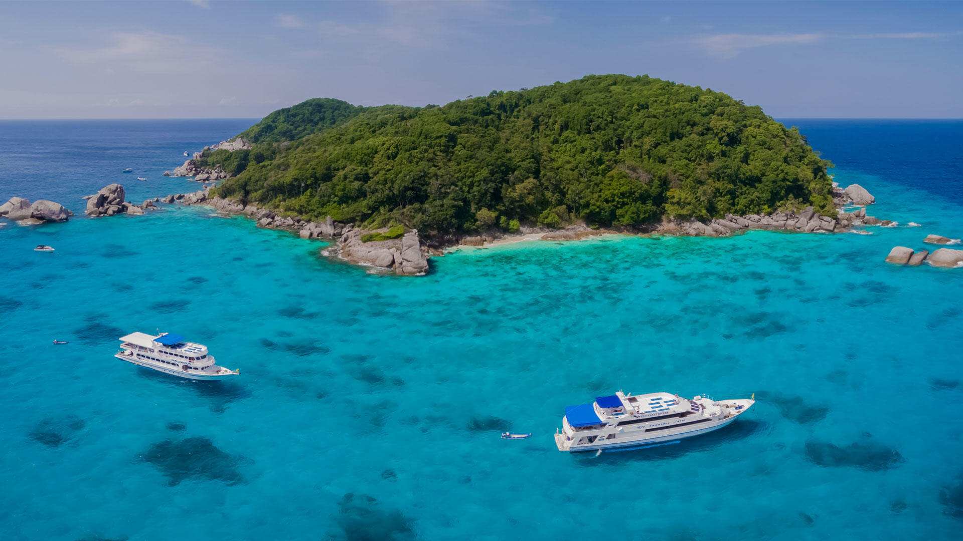 Liveaboard Similan Islands