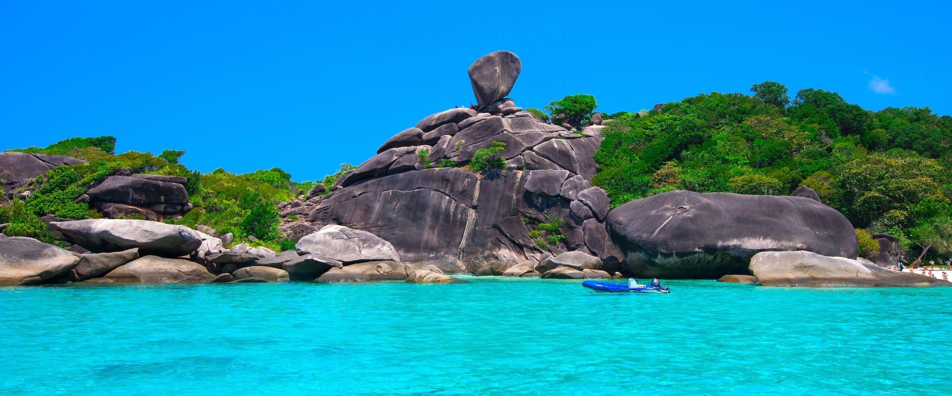 Liveaboard Thailand Similans